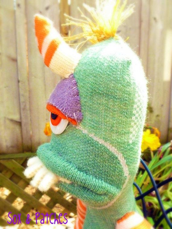 Sock Monster Wooner -RESERVED FOR TOBIN