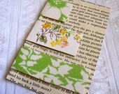 S-M-L  Fabric Covered Magnetic Page Markers