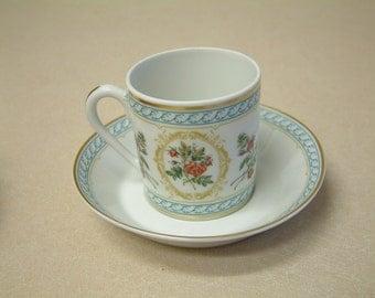 HAVILAND LIMOGES FRANCE Demitasse 2 Cups and 2 Saucers