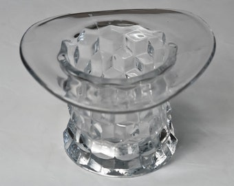 Fostoria American Clear Top Hat 3 inch