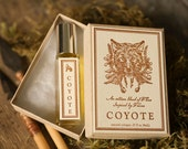 Coyote™ - unisex cologne oil - natural perfume with notes of bay, patchouli, orange, neroli, wood, musk - For Strange Women (and Men)