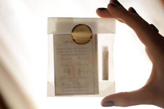 Mini Perfume Oil or Cologne Oil Sample - For Strange Women natural perfume