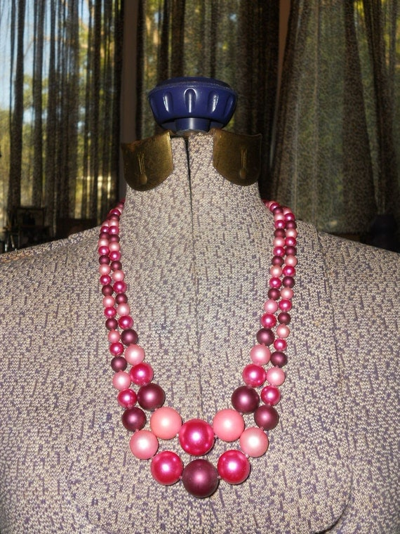 1950s In the Pink necklace