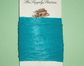 Turquoise Raffia Ribbon