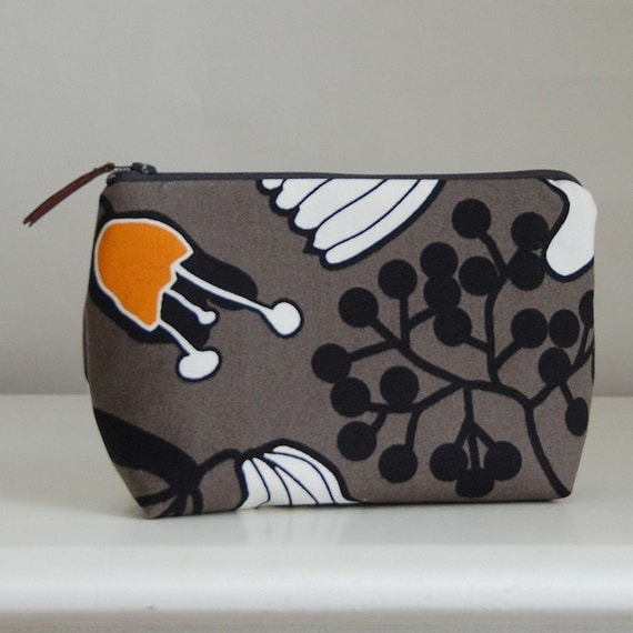 Funky Tree Cosmetics Pouch  - READY TO SHIP