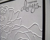 Happiness Always Simple Elegance Card - Celebrate - Wedding - Buy 5 Get 1 FREE
