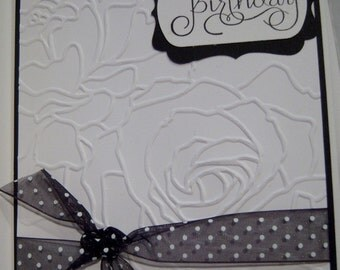 Happy Birthday Simple Elegance Card - Mother - Grandmother - Friend - Buy More and Save