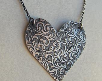 Flourishing Heart Pendant