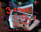 Get the whole shebang - 3 Tight Pantsy Drew zines for 5 bucks