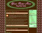 M2M Made to Match Premade Blogger Blog Template - 40068836