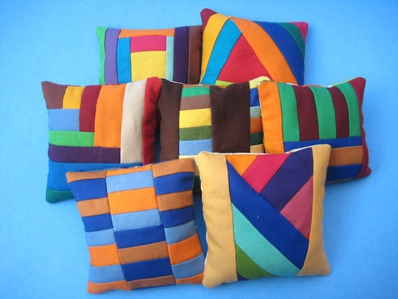 FREE With Any Purchase - Mini Patchwork Pillow, Paper Weight, or Pincushion