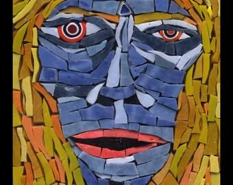 Maria - Mosaic Fantasy Face No. 12