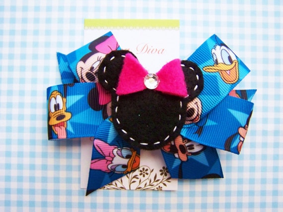 Felt Minnie Hairbow