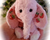 Melody a shy artist elephant by Loveable Treasures FREE SHIPPING