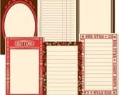 Jenni Bowlin - Journaling Cards - Town Square
