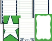 Jenni Bowlin - Journaling Cards - Varsity Line