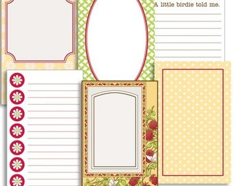 Jenni Bowlin - Journaling Cards - Front Porch