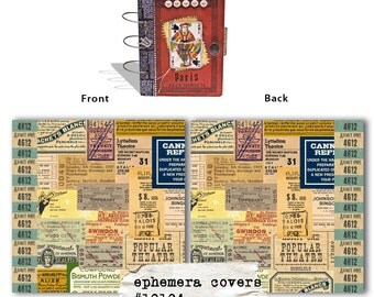 Ephemera Book Covers - 7gypsies