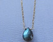 labradorite brio necklace