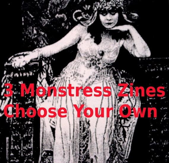 Monstress Zine 3 Pack