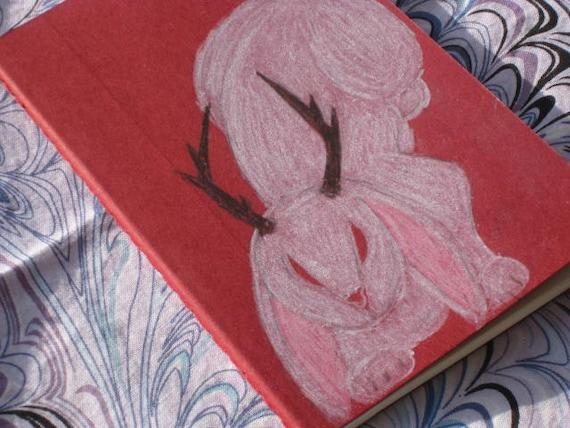 Red Jackalope Moleskine Notebook