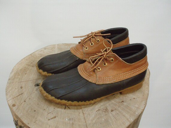 vintage ll bean gumshoe boot womens size 9 by