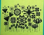 The Retro Garden Cross Stitch Pattern