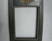 RESERVED FOR LEMONSAPPHIRE....  Victorian Aesthetic Picture Frame with Owl and Butterflies