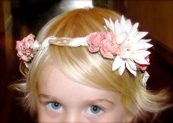 Floral Woven Vintage Style Hair Crown