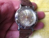 vintage Wrist Watch Mens Madison Tissot Chrono Working