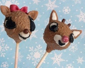 Rudolph the Red Nosed Reindeer Cake Pops- Full set of Characters