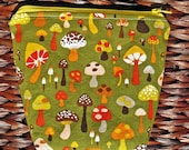Tinkering Toadstools Zipper Pouch - Get Organized