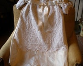 Monica Christening Gown, Undergarment and Bonnet - 25% Off Holiday Sale