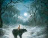 Isabella and the Bear