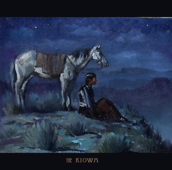 the Kiowa Original 11x14 Oil on Canvas