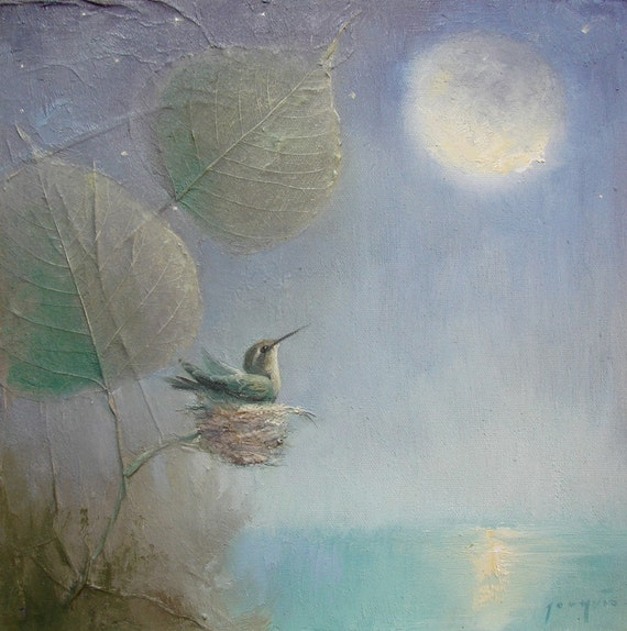 Hummingbird  Moon