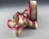 Ribbon Hanah Silk Satin Monet 5 yd length