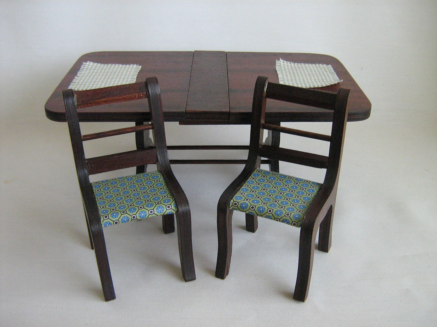 Vintage richwood duncan phyfe style dining room set by for Duncan 5 dining room table