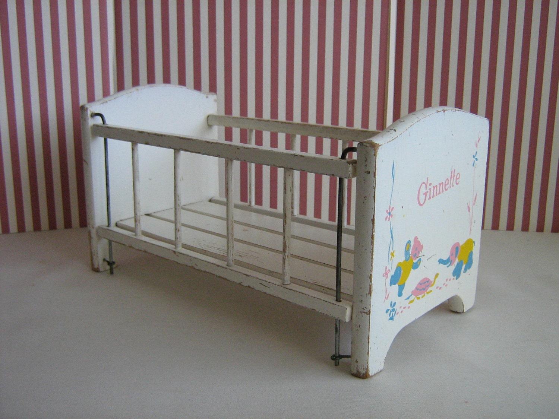 Vintage Vogue Ginnette Baby Doll Crib