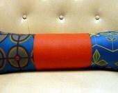 Rupert the Jester - Blue, Orange Pillow
