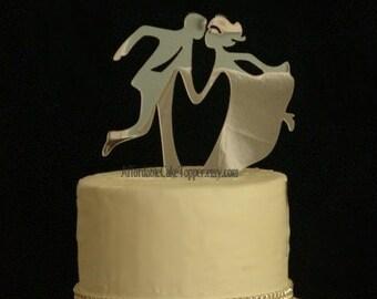 Dance Cake Topper - Custom Wedding Cake Topper - Bride and Groom Cake Topper - Cake Topper -Swing Dancing - Mr and Mrs - Vintage Wedding