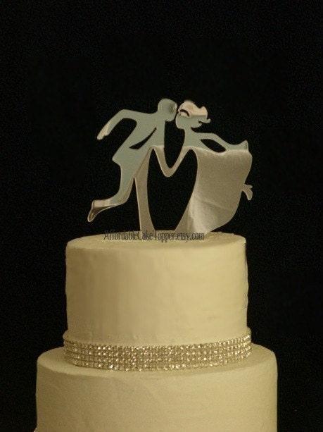 Dance Cake Topper Custom Wedding Cake Topper Bride And