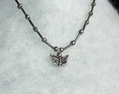 A Tiny Buttefly Necklace