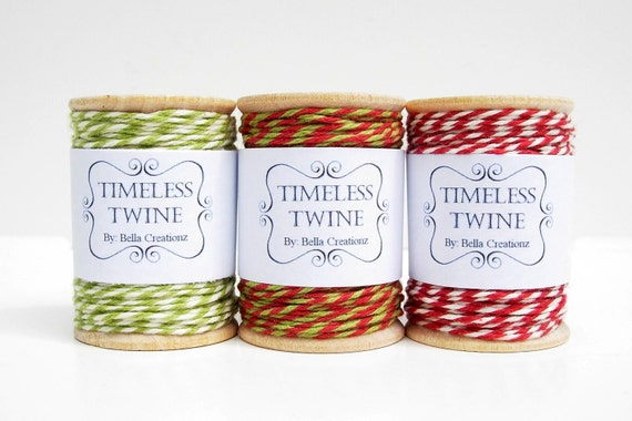 Christmas Bakers Twine Large Party Pack by Timeless Twine.