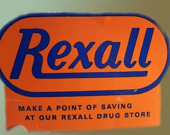 Early Rexall Needlecase Pack  VIntage needlebook artwork IN french and English made in Japan