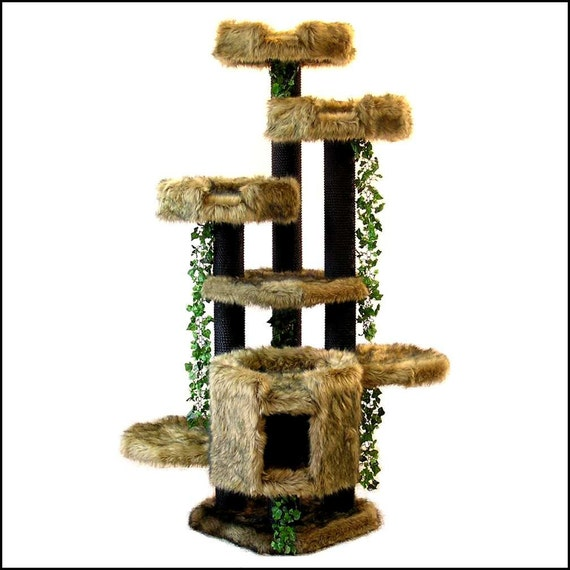 Creative Cat Towers: Items Similar To LUXURY Cat FURNITURE SALE 6' Trees