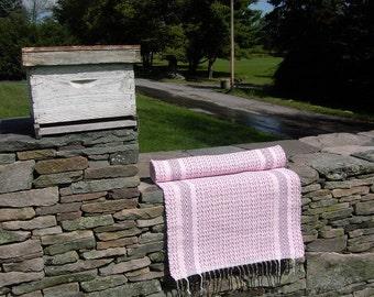 Pretty in Pink Rag Rug