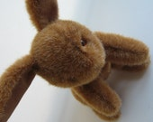 Handmade Jointed Traditional Bunny Rabbit - Brown Easter Bunny