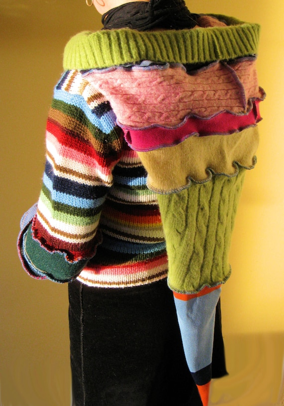 ReSweater Hoodie recycled upcycled sweater