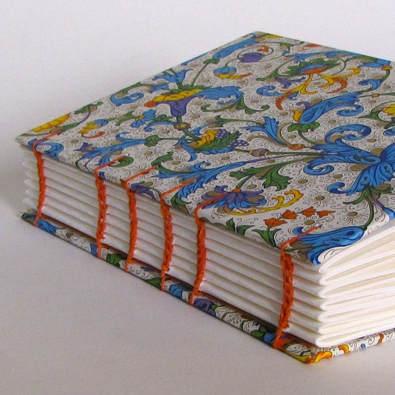 Traditional Italian Print Blank Journal